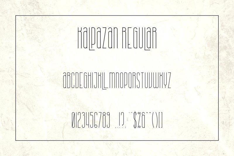 Download Kalpazan font (typeface)