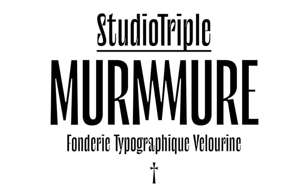 Download Le murmure font (typeface)