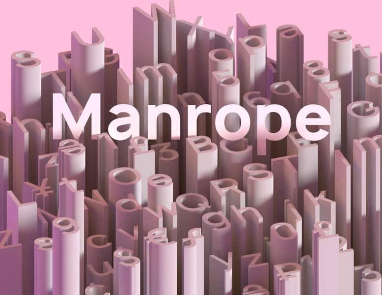 Download Manrope font (typeface)