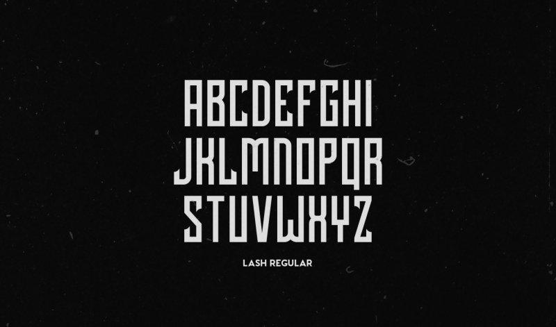 Download Lash Rough font (typeface)