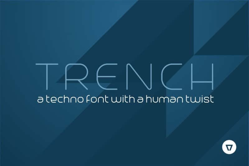 Download Trench Thin font (typeface)