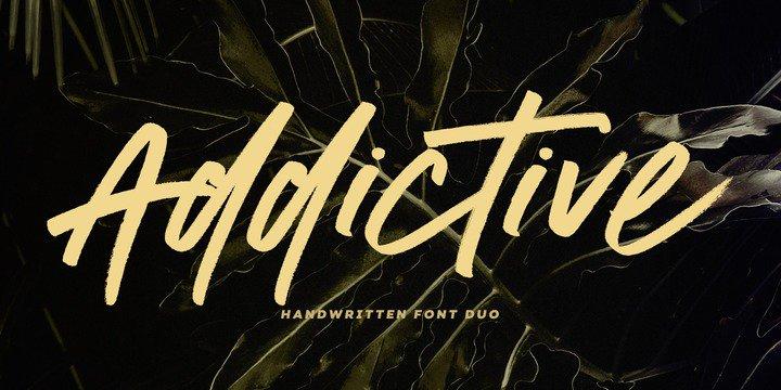 Download Addictive Font Duo - Latin font (typeface)