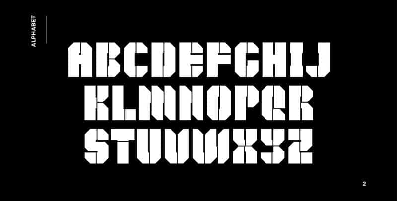 Download Keys Black DEMO font (typeface)