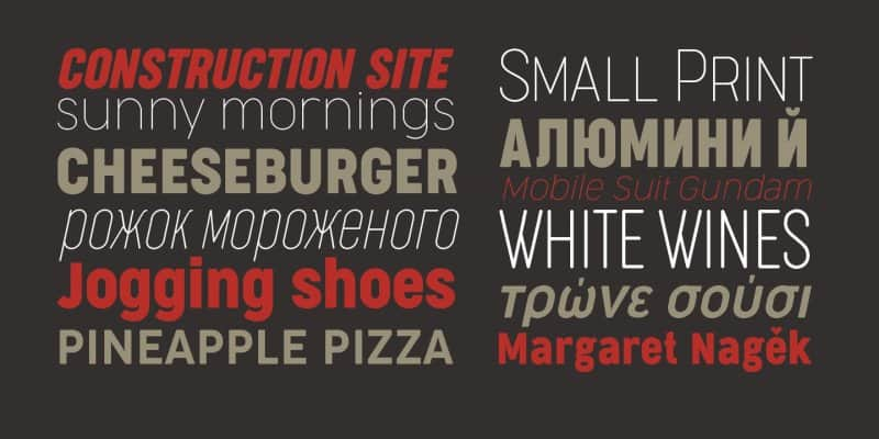 Download Cocogoose Narrows font (typeface)