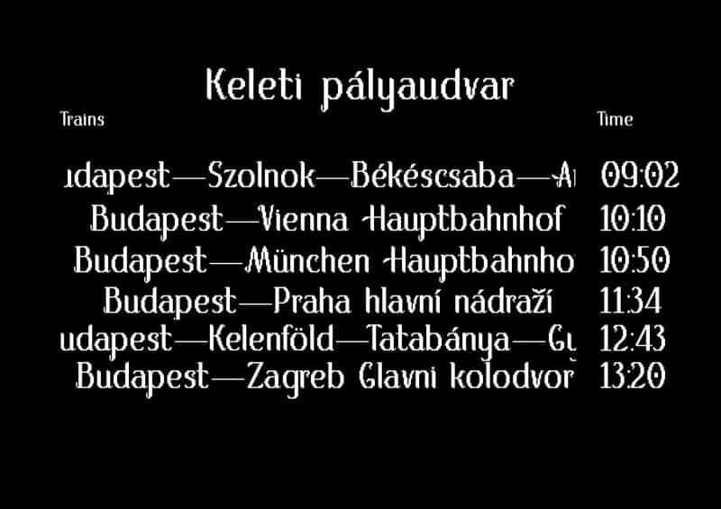 Download Keleti font (typeface)