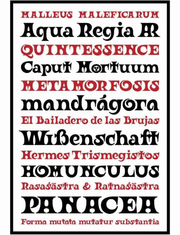 Download Ouroboros font (typeface)