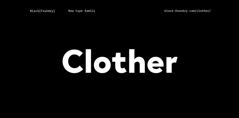 Download Clother Trial font (typeface)