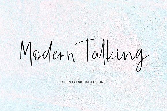 Download Modern Talking font (typeface)