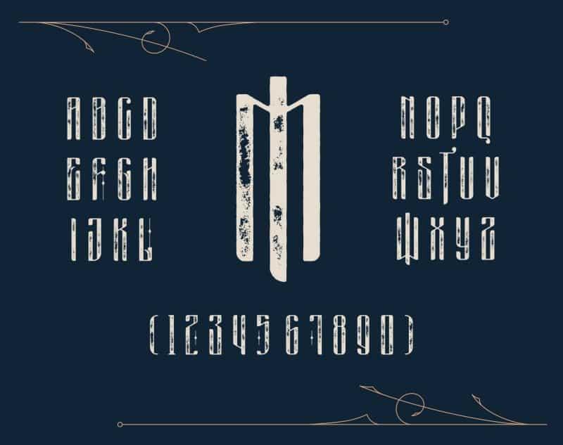 Download Masquerouge font (typeface)