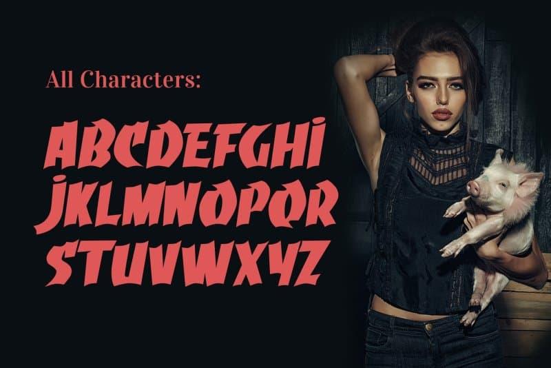 Download Grumaz font (typeface)