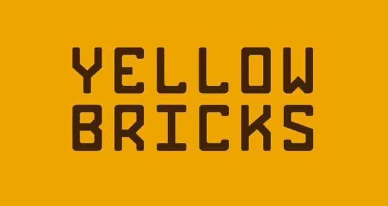 Bricks шрифт скачать бесплатно