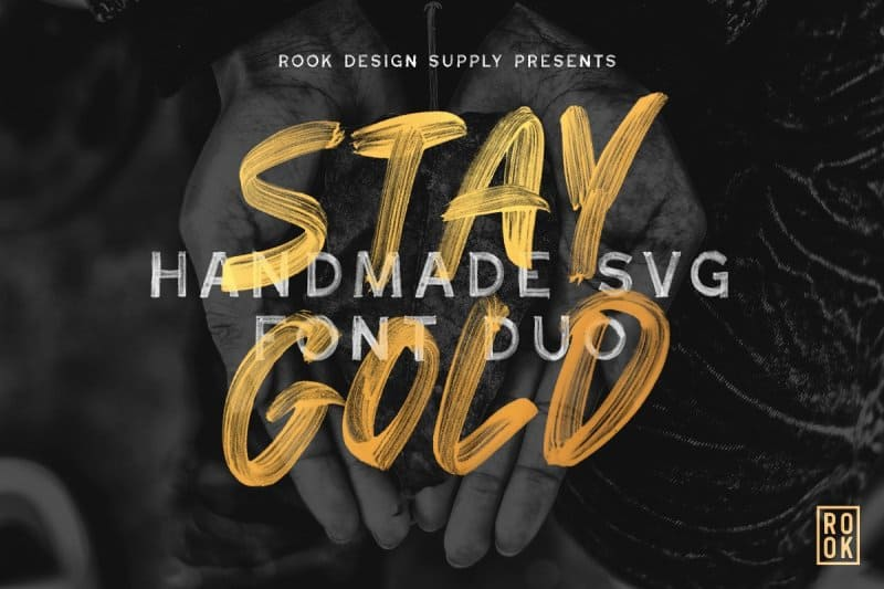 Download Stay Gold font (typeface)