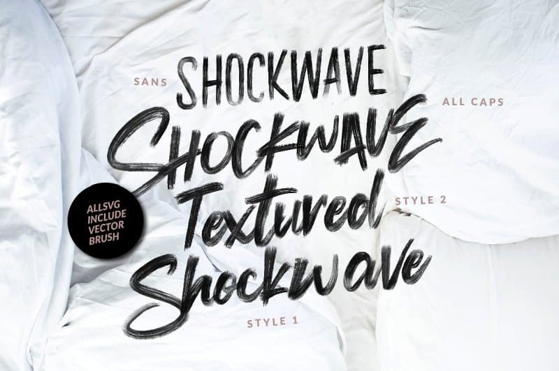 Download Shockwave Collection font (typeface)
