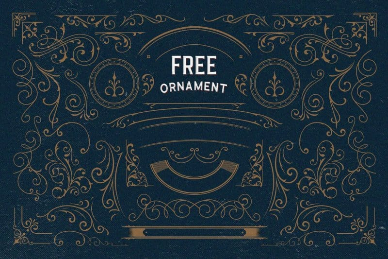 Download Arlington Layered & Ornaments font (typeface)