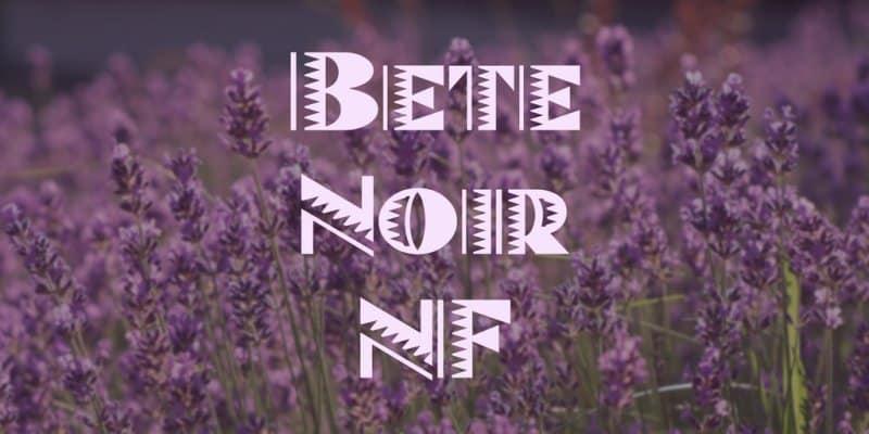 Download Bete Noir NF font (typeface)