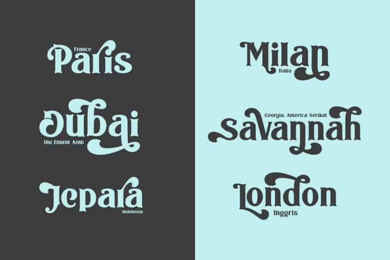 Download The Bodbug Typeface font (typeface)