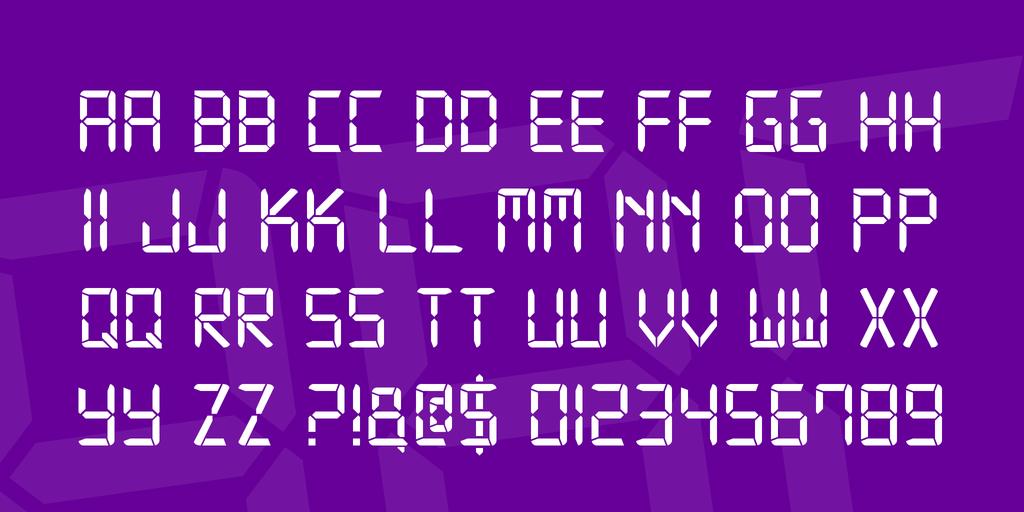 Download Digital-7 Family font (typeface)