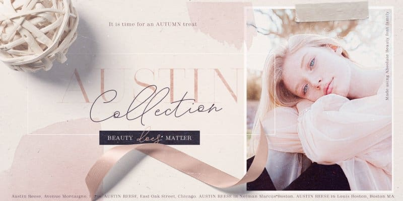 Download Absolute Beauty Font Family font (typeface)