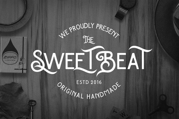 Download Sweetbeat font (typeface)