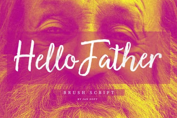 Download Hello Father font (typeface)