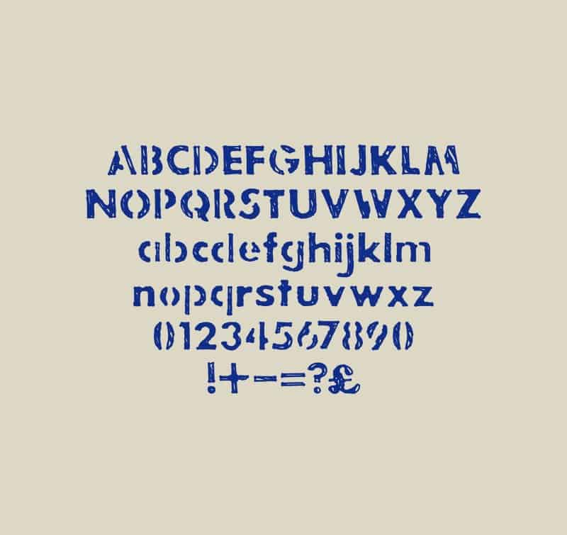 Jakes Stencil шрифт скачать бесплатно