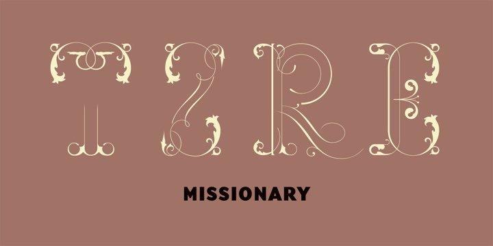 Missionary шрифт скачать бесплатно