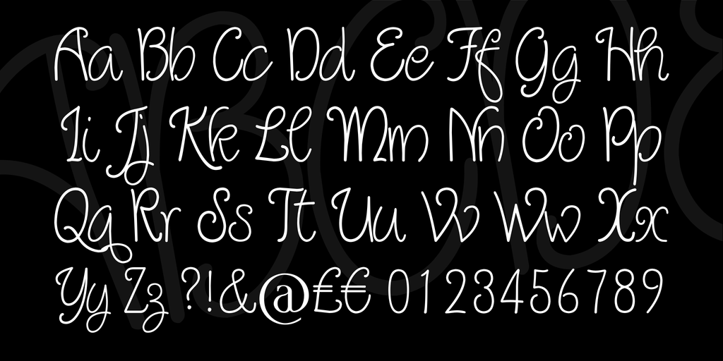 Download Quirlycues font (typeface)