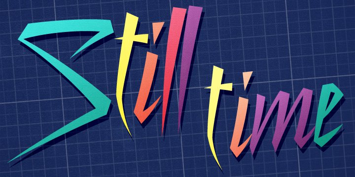 Download Still Time font (typeface)