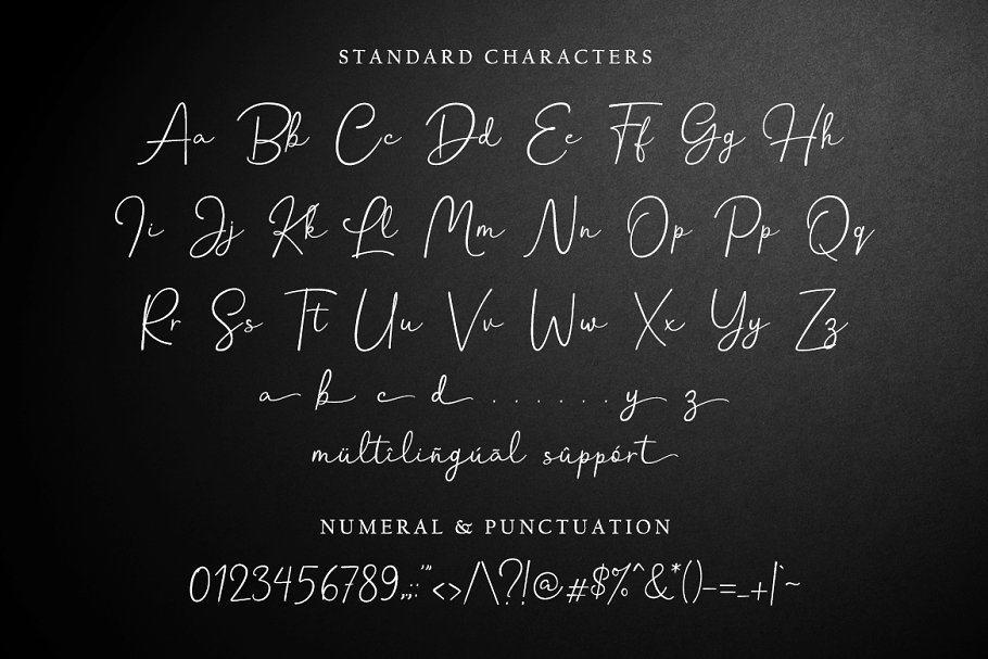 Download Hanston Signature font (typeface)