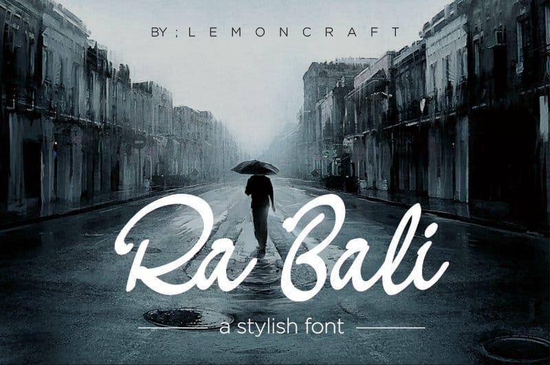 Download Ra Bali Font font (typeface)
