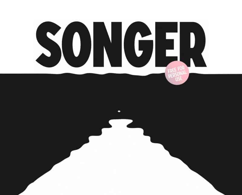 Download Songer font (typeface)