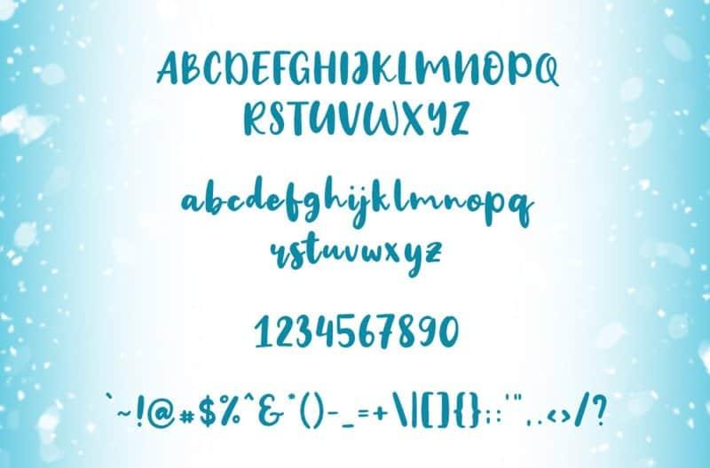 Download Big Snow font (typeface)