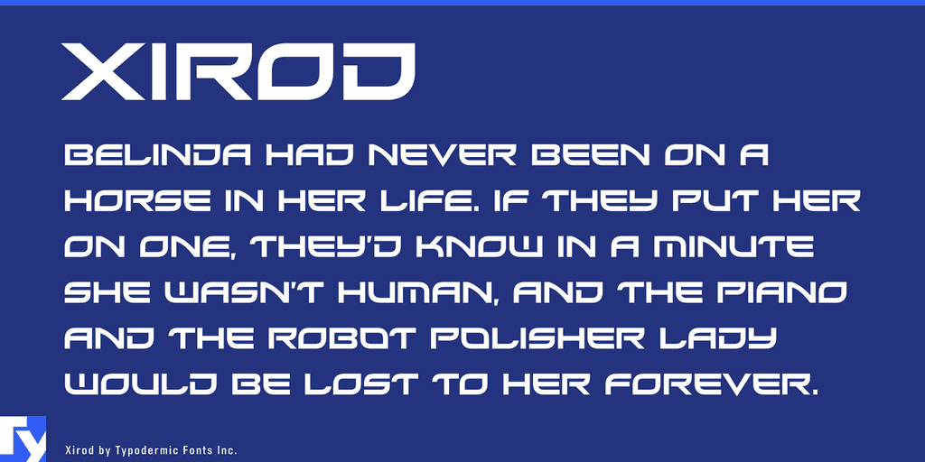 Download Xirod font (typeface)