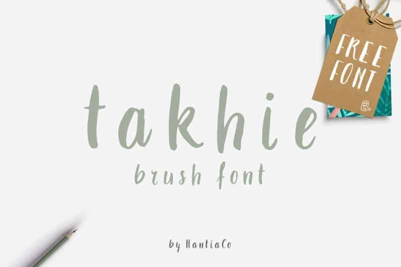 Download Takhie font (typeface)