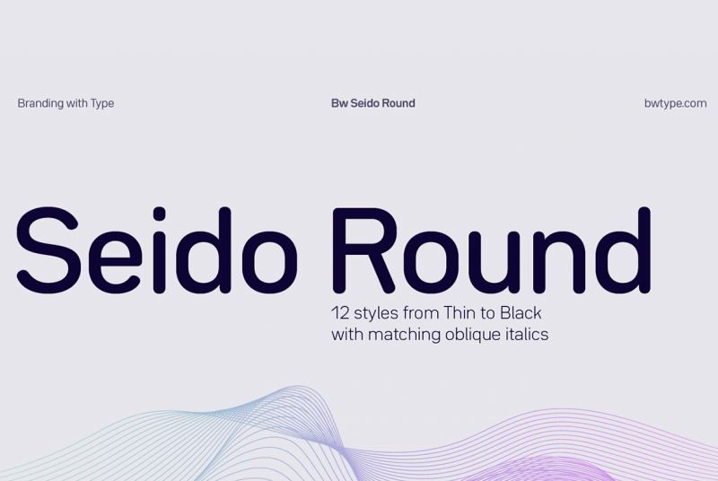 Download Seido Round font (typeface)