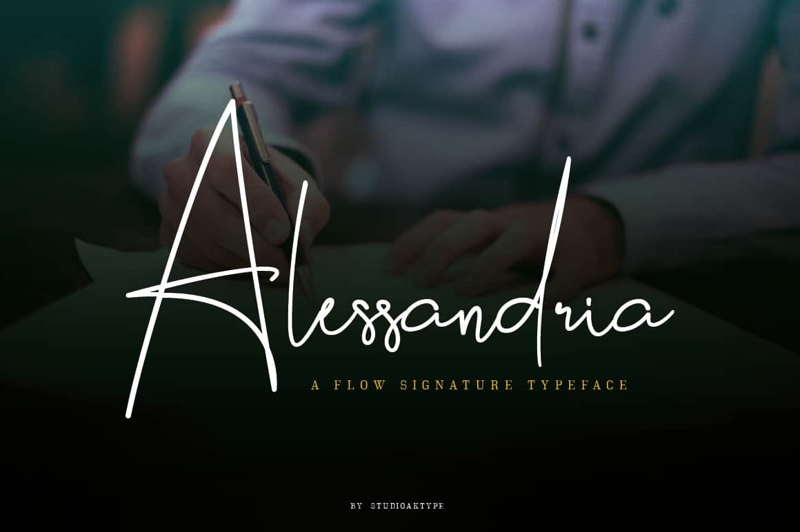Download Alessandria font (typeface)