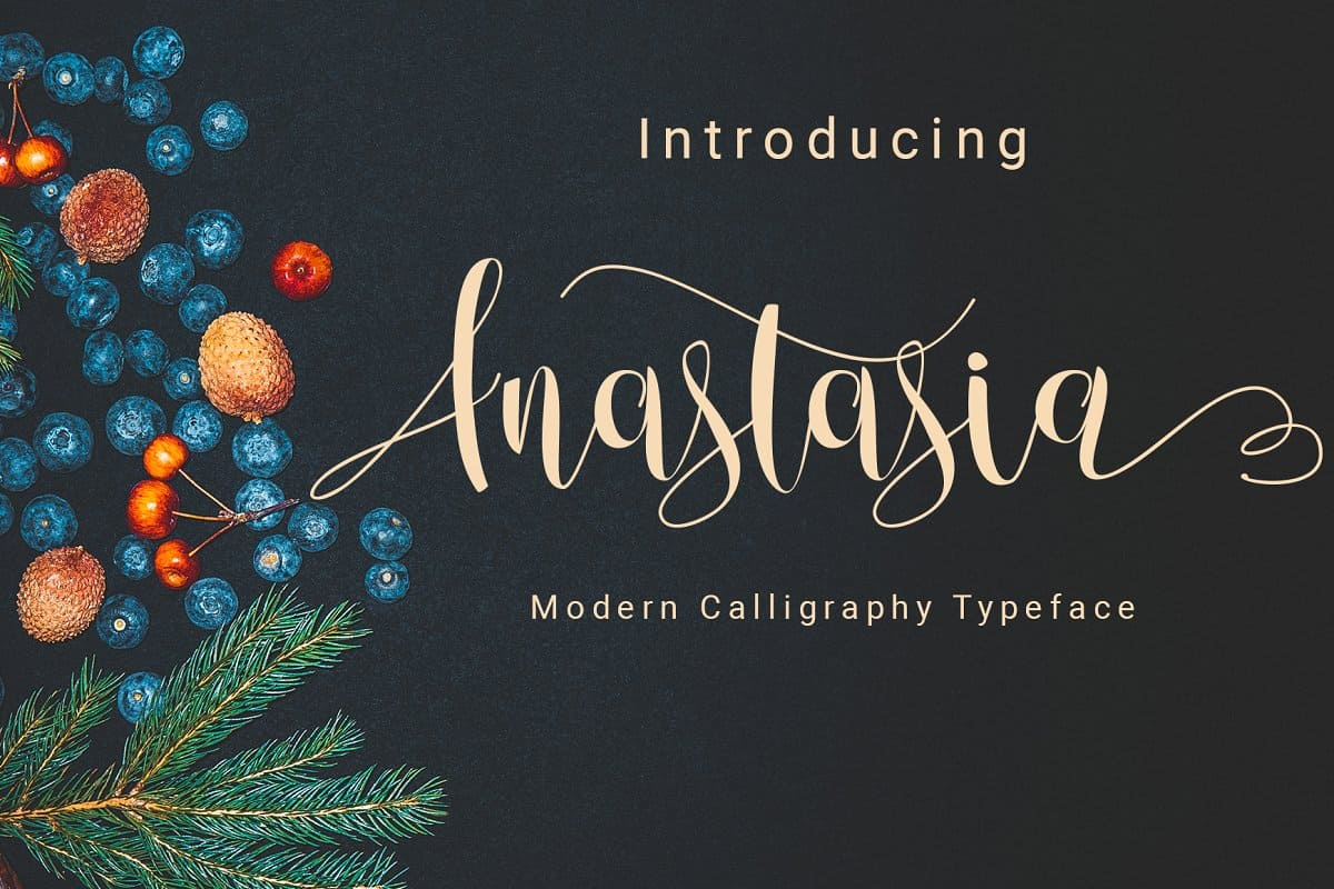 Download Anastasia font (typeface)