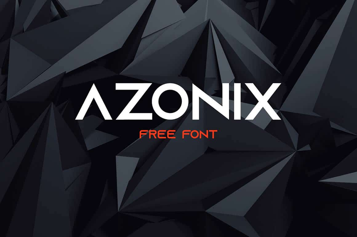 Download Azonix font (typeface)