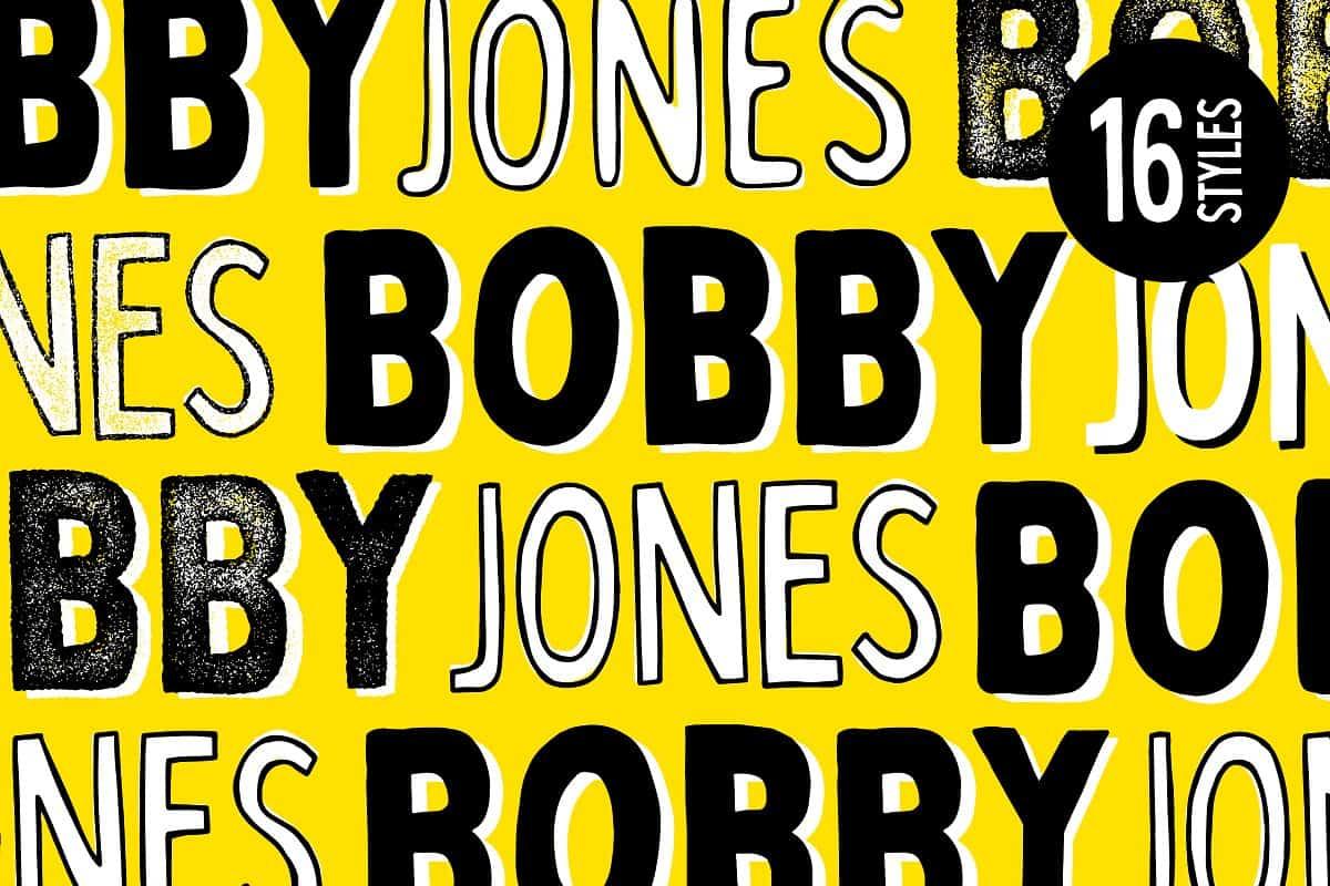 Download Bobby Jones font (typeface)