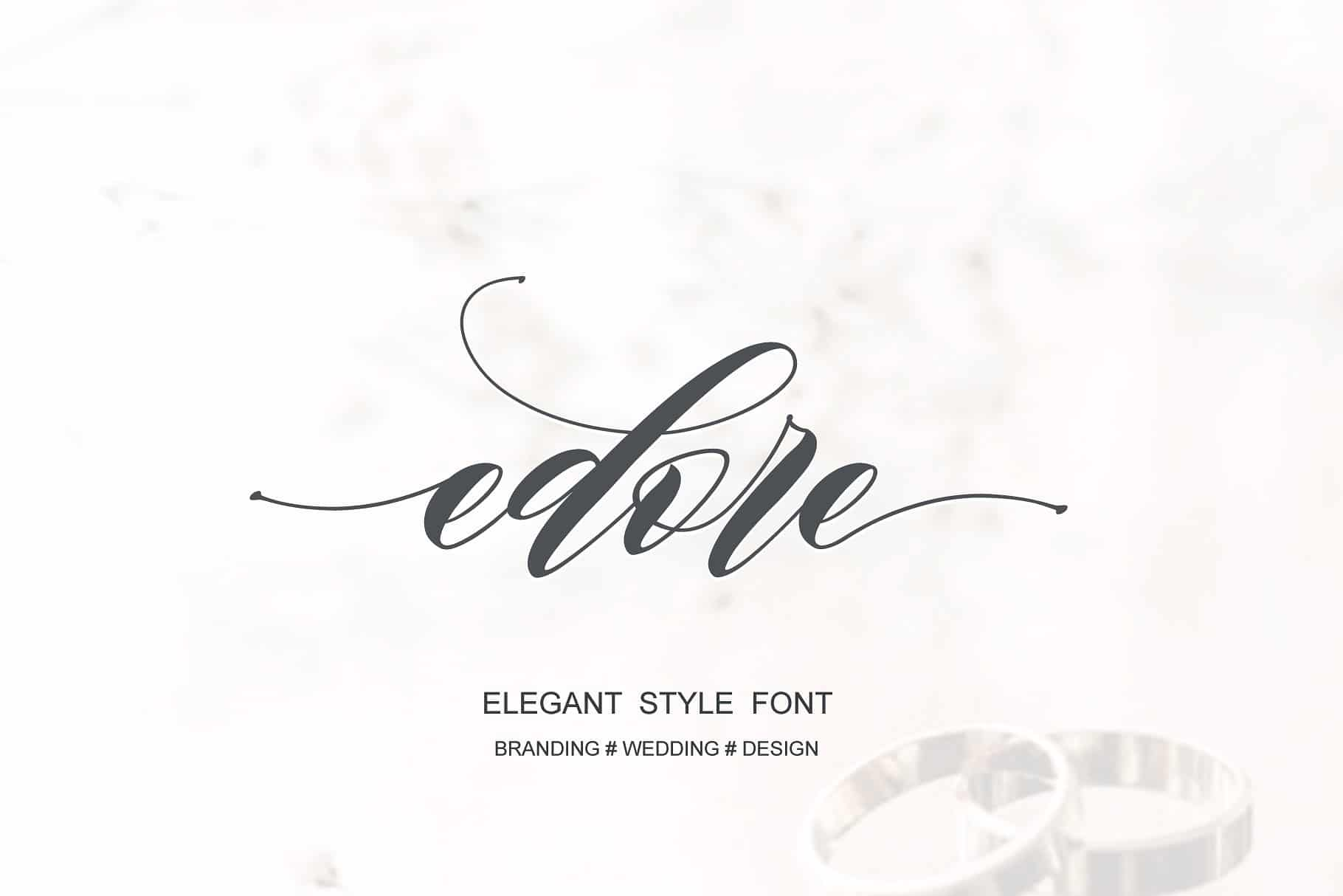 Download Edore font (typeface)