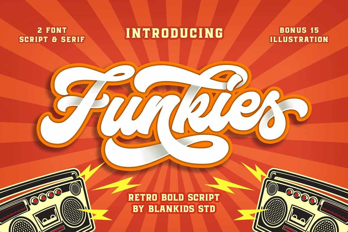 Download Funkies font (typeface)