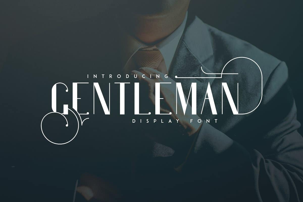 Download Gentleman font (typeface)