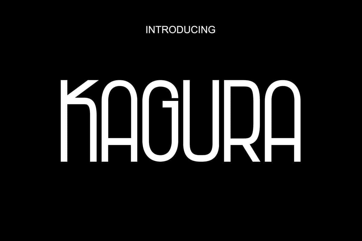 Download Kagura font (typeface)
