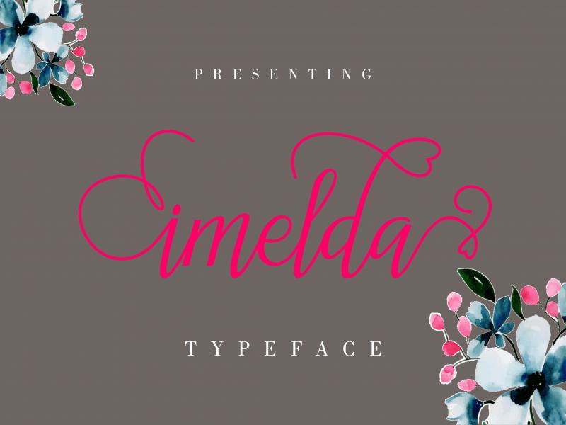 Download Imelda font (typeface)