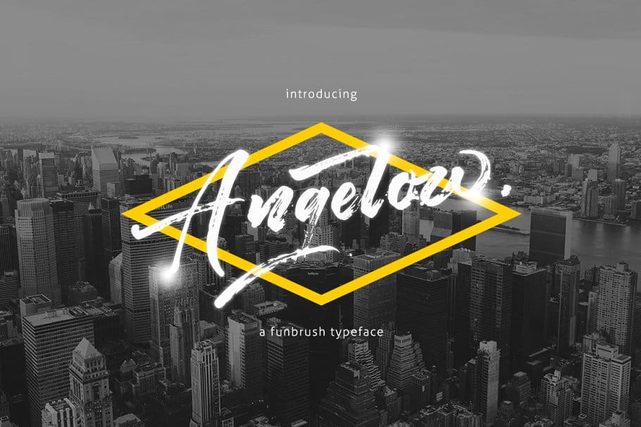 Download Angelow font (typeface)