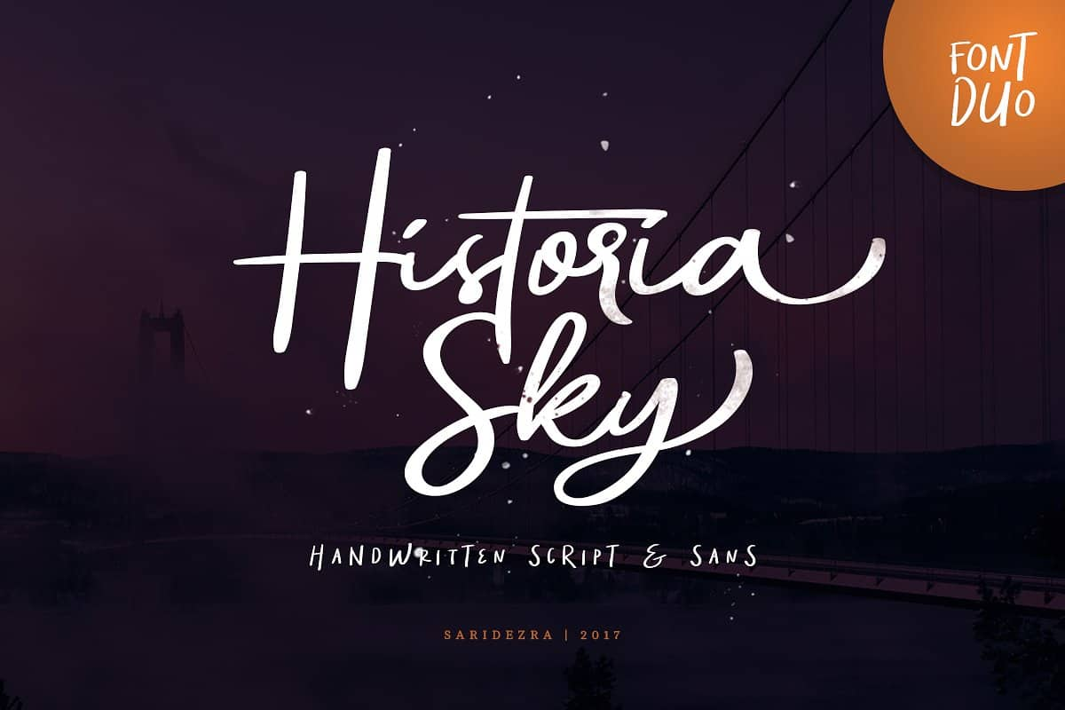 Download Historia Sky font (typeface)