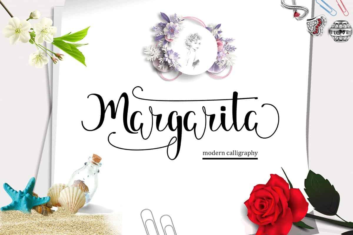 Download Margarita font (typeface)