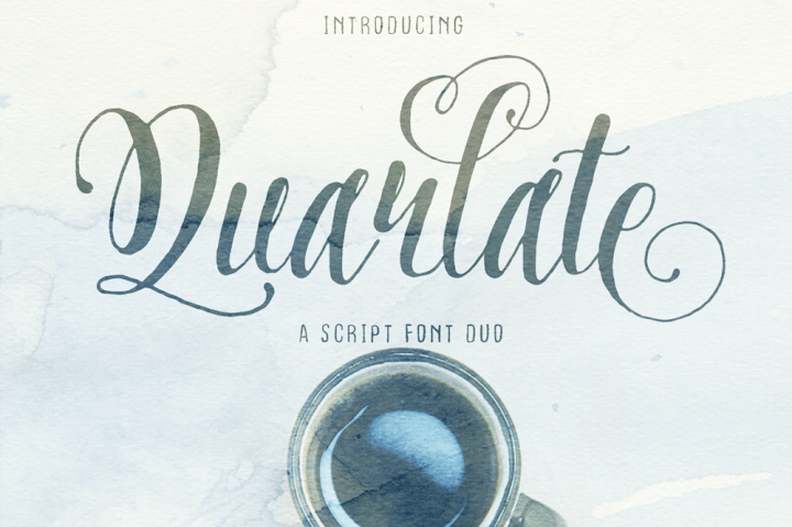 Download Quarlate font (typeface)