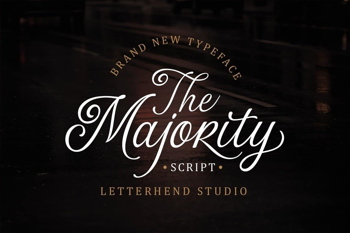 Download The Majority font (typeface)