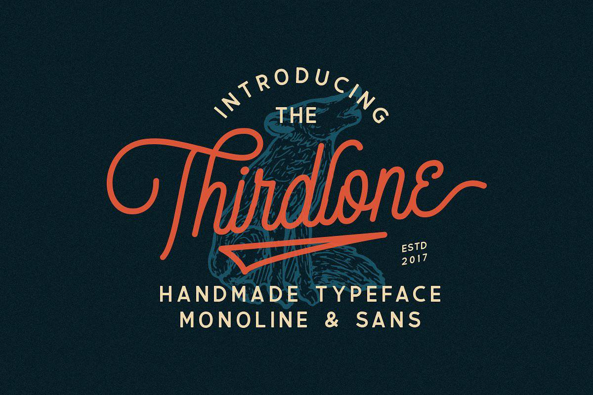 Download Thirdlone font (typeface)